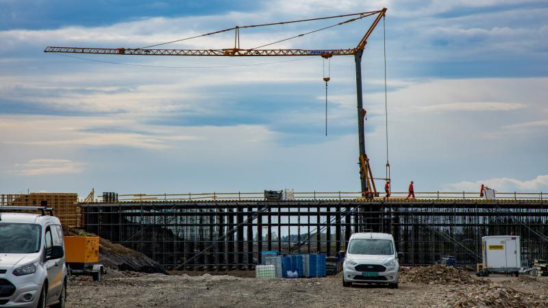 BIM-modellen for RV 3/ 25 består blant annet av fem heldigitale broer, som nå er under bygging. Foto: Delta V